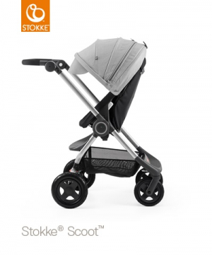 Stokke Scoot V3 Black exkl sufflett
