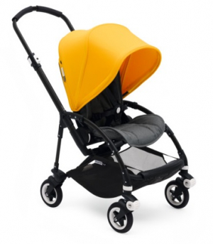 Bugaboo Bee5 Komplett Grey Melange & Sunrise Yellow