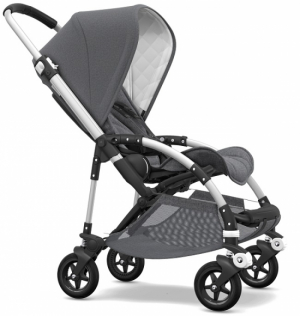 Bugaboo Bee5 Komplett, Classic Collection, Alu Grey Melange