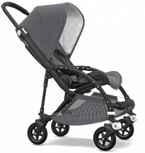 Bugaboo Bee5 Komplett, Classic Collection, Black Grey Melange