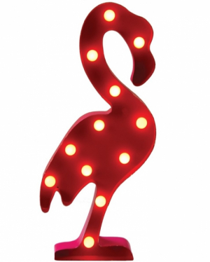 Sass & Belle LED-lampa Flamingo