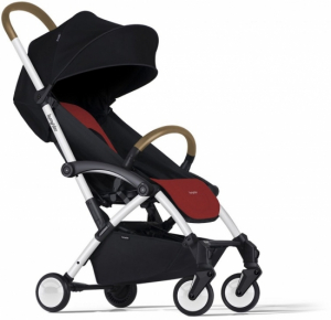 Bumprider Connect Black & Red, Vitt Chassi