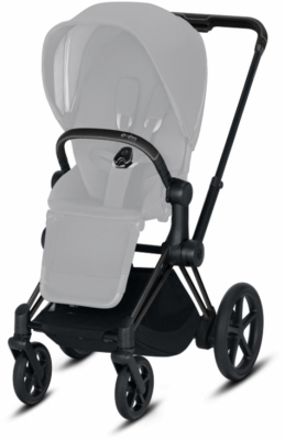 Cybex e-Priam Chassi Matt Black