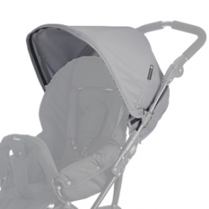 Extra Sufflett till Emmaljunga Scooter 3 - Light Grey