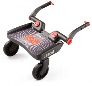 Ståbräda Buggy Board Mini Svart