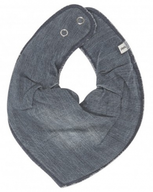 Pippi Scarf Bib Light Blue Denim