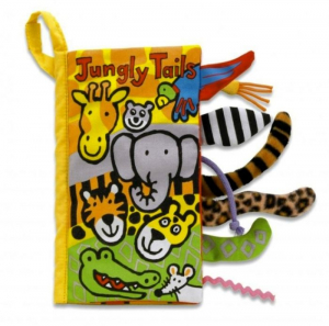 Jellycat Prasselbok Jungle Tails