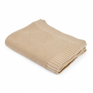 Mini Dreams Knitted Blanket Sand