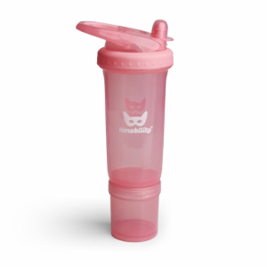 Herobility Vattenflaska Sport Bottle Bubble Pink 300 ml