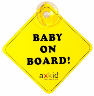Axkid Skylt Baby On Board