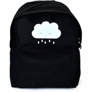 A Little Lovely Company Ryggsäck Black Cloud