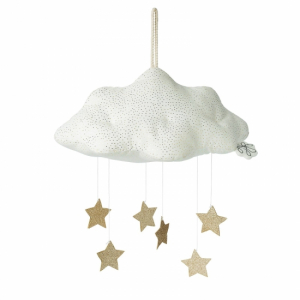 Picca Loulou Cloud with stars White