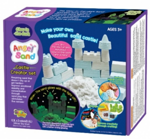 Angel Sand Castle Creator Set, Glow-in-the-dark