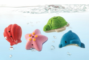 PlanToys Sea Life Bath Set Badleksaker
