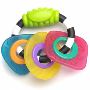 Playgro Textured Teething Bitring