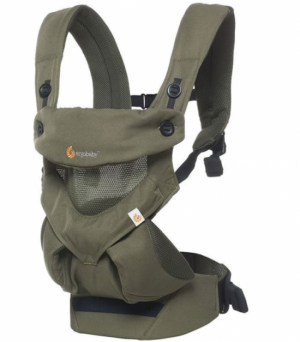 Ergobaby Bärsele 360 Cool Air Green Khaki