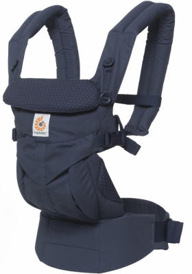 Ergobaby Bärsele Omni 360 Navy Mini Dots