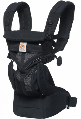 Ergobaby Bärsele Omni 360 Cool Air Mesh, Svart