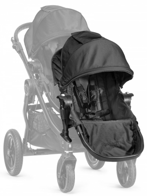 Baby Jogger City Select Syskonsits Black