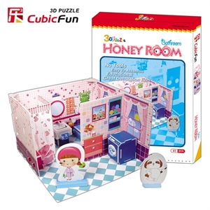 Cubic Fun Honey Room Bathroom, 41 Delar