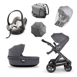 Stokke Trailz 2.0 Black Melange Paketpris Large
