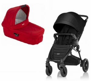 Britax B-Motion 4 Plus Duovagn Cosmos Black/Flame Red