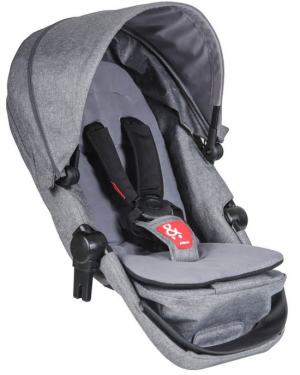Phil & Teds Voyager Syskonsits Grey Melange