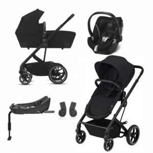 Cybex Balios S 2020 2-in-1 Deep Black + Aton 5