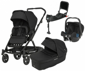 Britax Go Next 2017 Travel System Black Ink