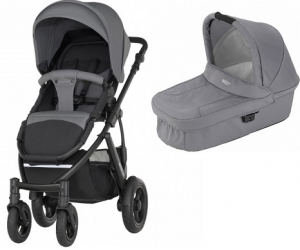 Britax Smile 2 Duovagn Steel Grey