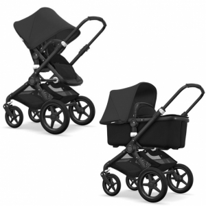 Paketpris! Bugaboo Fox Komplett All Black