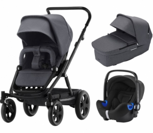 Britax Go Big² Travel System Graphite Melange