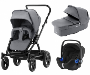 Britax Go Big² Travel System Steel Grey