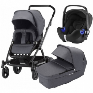 Britax Go Next² Travel System Graphite Melange