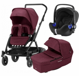 Britax Go Next² Travel System Wine Melange