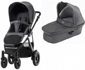 Britax Smile 2 Duovagn Black Denim