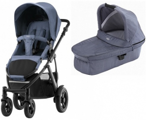 Britax Smile 2 Duovagn Blue Denim