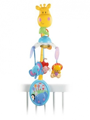 Fisher Price 2-i-1 s�ngmobil Giraff