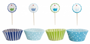 Jabadabado Party Cupcake Kit Bl�