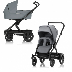 Britax Go Big 2 Duovagn Steel Grey