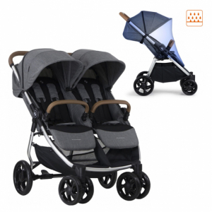 Crescent Duo Lightway Grey Melange Inkl. Regnskydd