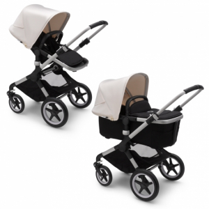 Bugaboo Fox2 Duovagn Alu/Fresh White
