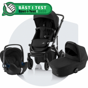 Paketpris Britax Smile 3 + Britax Primo | Space Black
