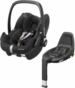 Maxi Cosi Pebble Pro i-Size Essential Black + Family Fix Bas