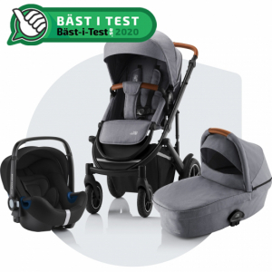 Paketpris Britax Smile 3 + Britax Baby-Safe² i-Size | Frost Grey/Brown