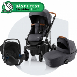 Paketpris Britax Smile 3 + Britax Baby-Safe² i-Size | Midnight Grey