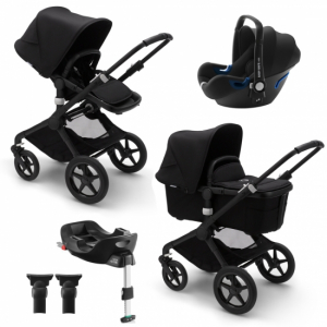 Paketpris! Bugaboo Fox 2 med Britax Baby-Safe i-Size