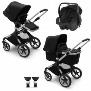 Paketpris! Bugaboo Fox 2 | Britax Primo | Adapter