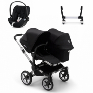 Paketpris! Bugaboo Donkey 3 Duo + Cybex Cloud Z  & Adapter