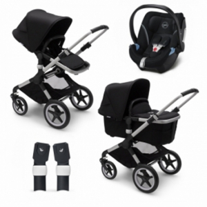 Paketpris! Bugaboo Fox2 med Cybex Aton 5 + Adapter
